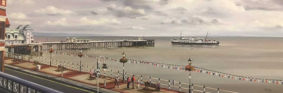 Balmoral and Penarth Pier