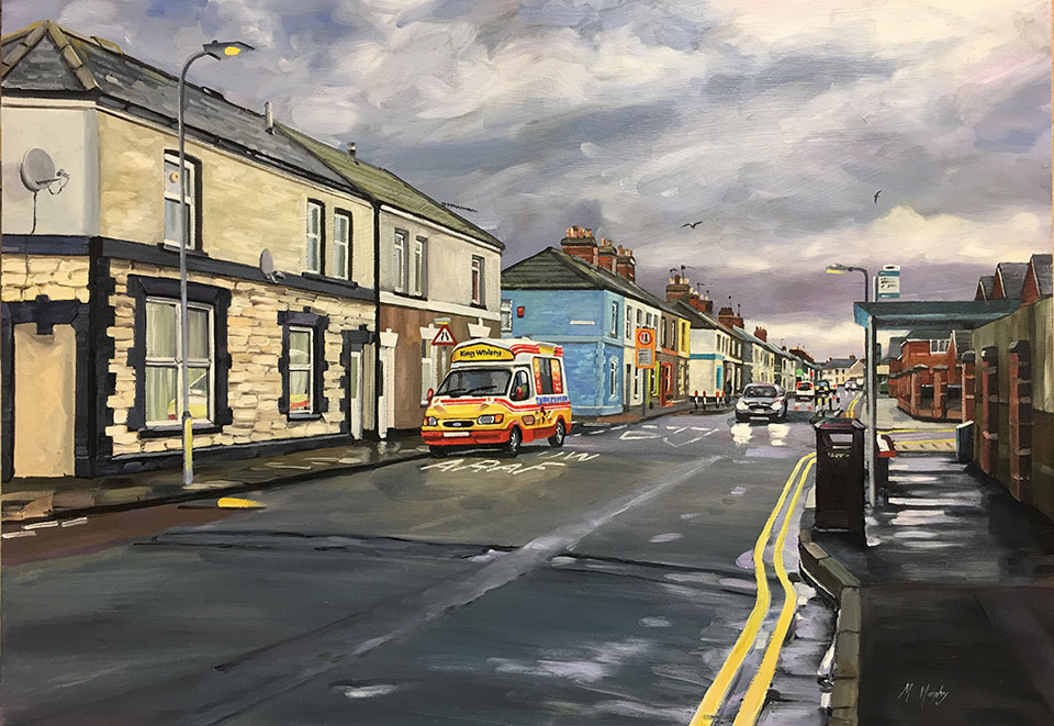 Slow Araf King Whippy Sanquhar Street, Splott Cardiff