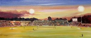 Glamorgan Cricket Grounds Painting