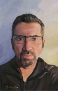 Self Portrait. Aged 49