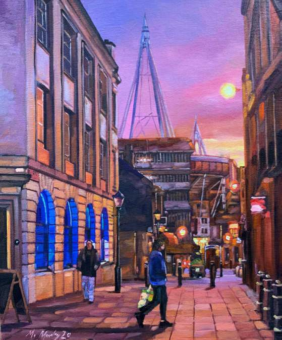 Quay Street Twilight