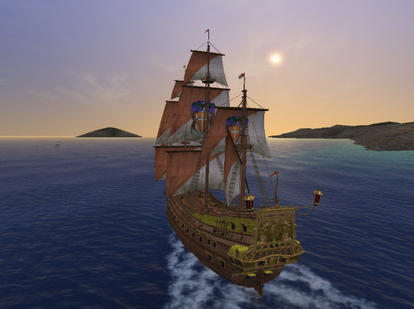 Uncharted Waters Online Ship