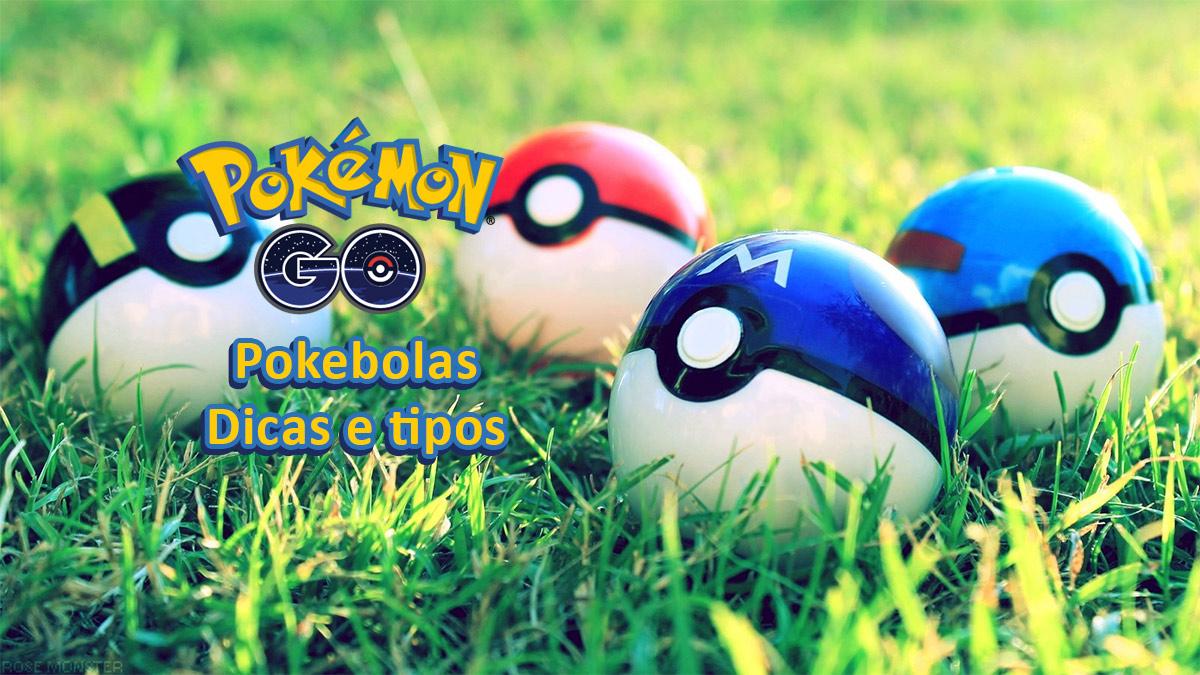 Pokemon GO Pokebolas Dicas