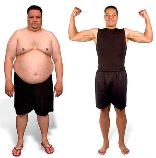 Похудеть реально мужчина