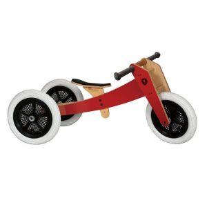 Wishbone drevni biciklić crvene boje