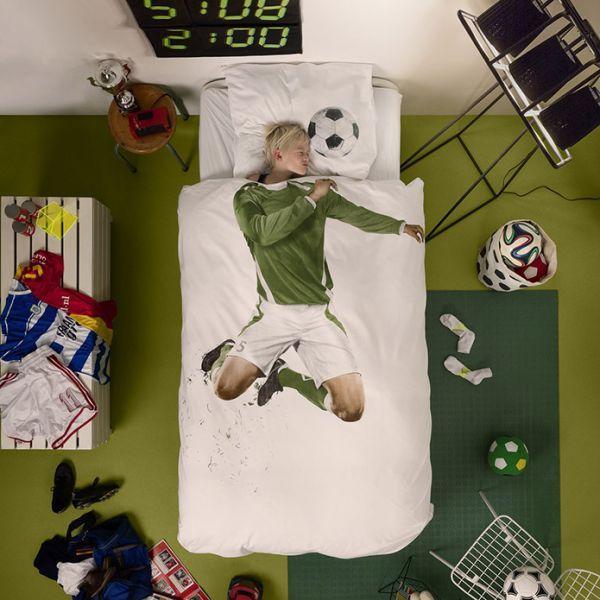 Posteljina za djecu nogometaš