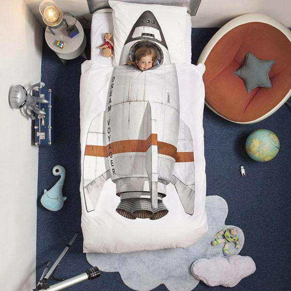 Posteljina za djecu Raketa
