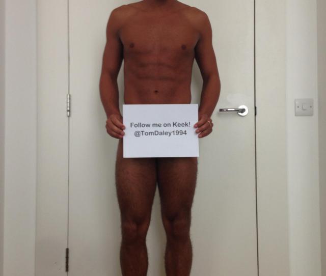 Tom Daley Half Nude