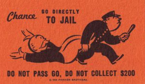 go to jail card