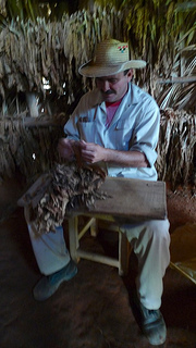 Experience the art of cigar-making in Cuba.