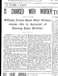 Article about William Grace