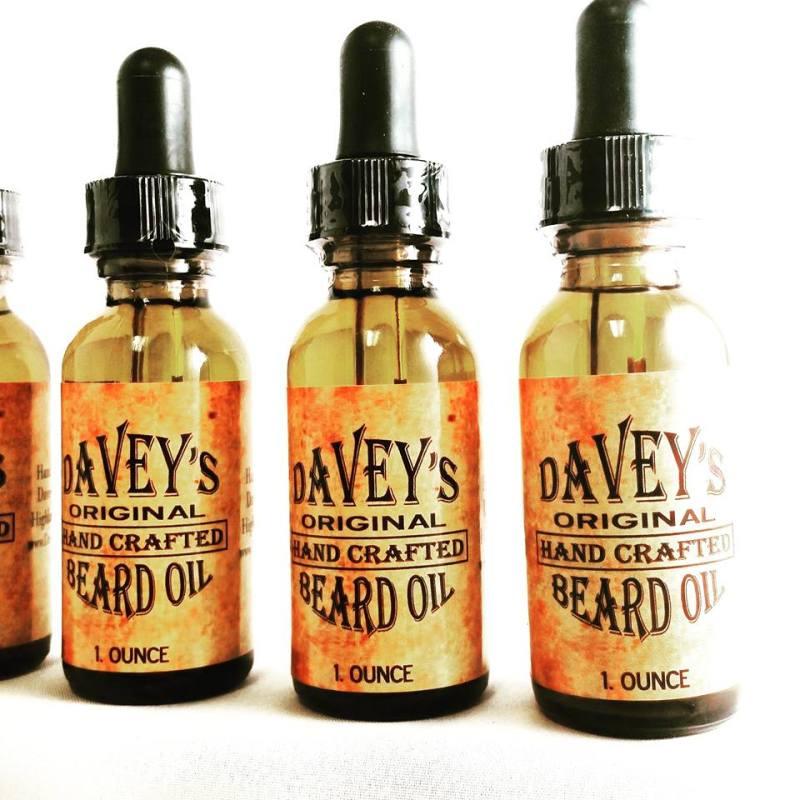 DIY huile à barbe