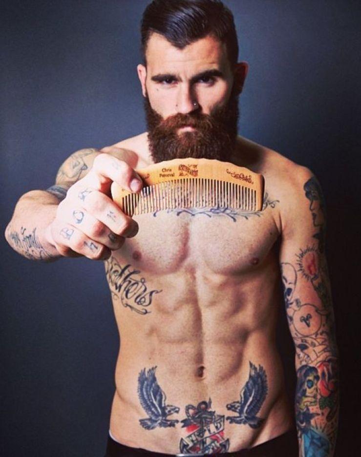 peigne à barbe