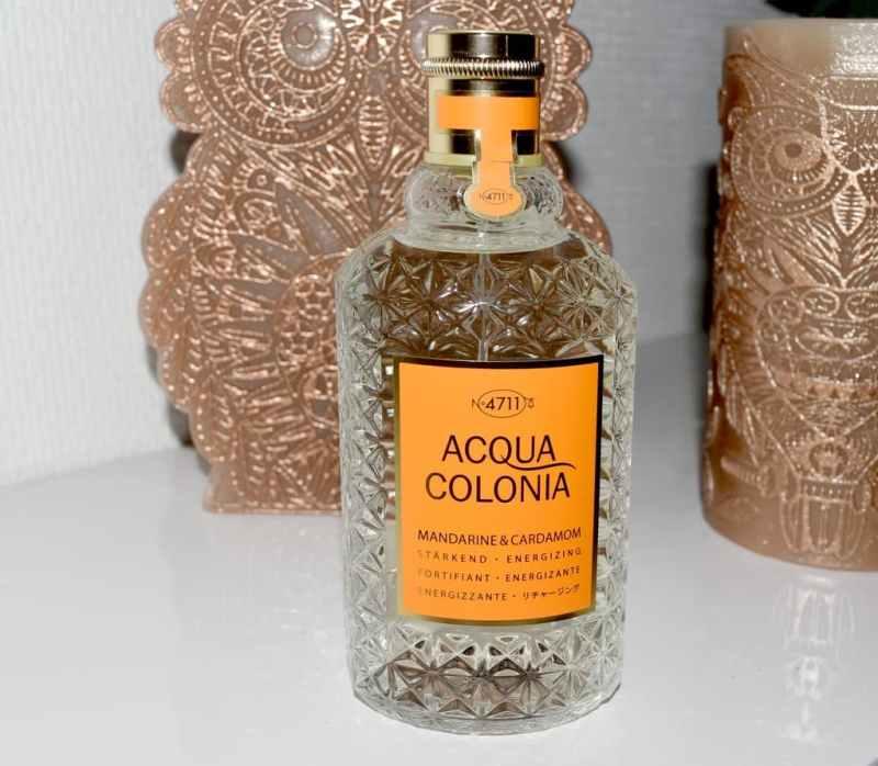 Test 4711 Acqua Colonia Mandarine & Cardamom