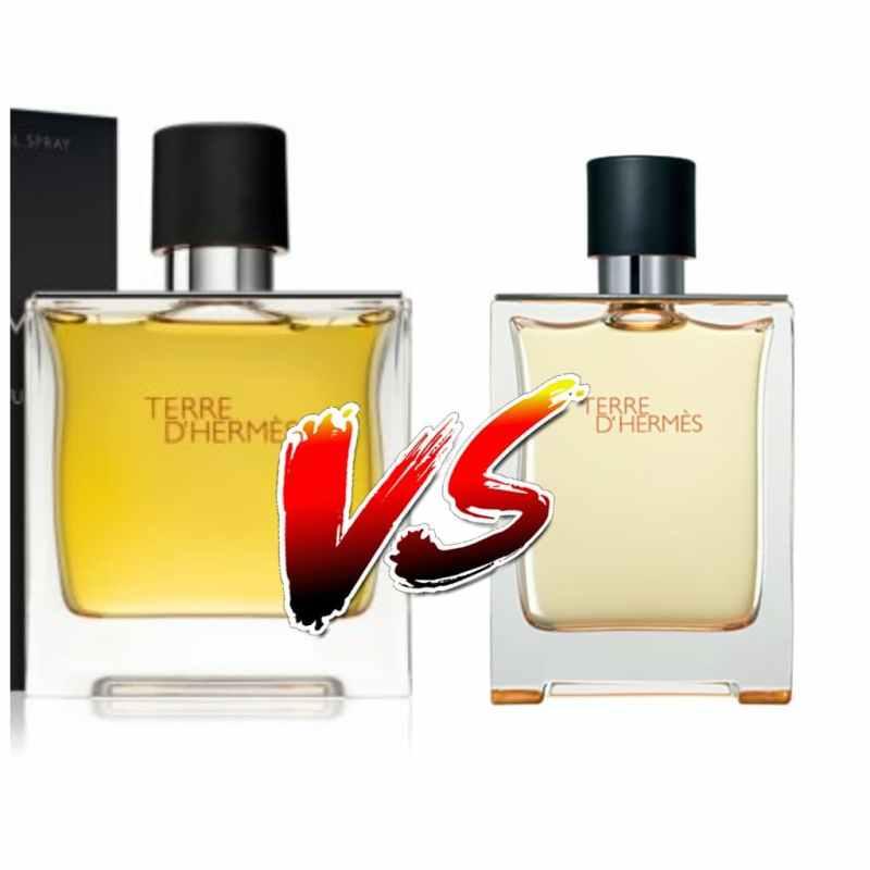 Terre d'Hermès Parfum Vs Terre d'Hermès eau de toilette