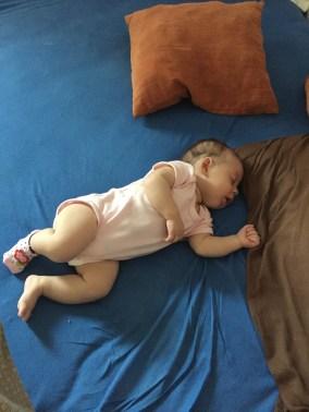 I tu też Kasia śpi