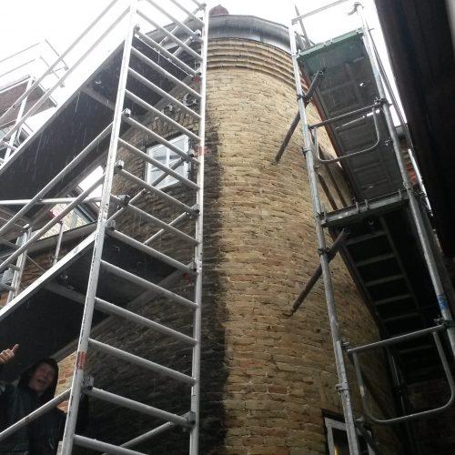 Fassadensanierung Privatbaustelle