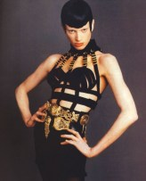 Kristen McMenamy - Versace 1992