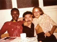 Con Jerry Hall e Grace Jones, sue grandi amiche