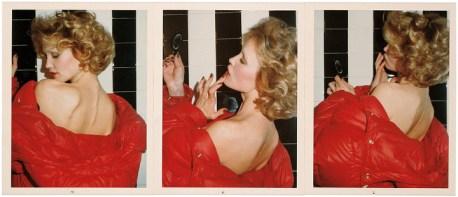 Red Coat Series: Jessica Lange, Parigi, 1974