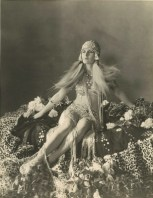 Evelyn Brent as Cleopatra by Otto Dyar for the 1927 Paramount Cleopatra film that never was
