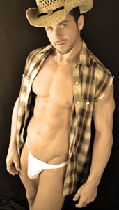 Male Stripper Cowboy Costume