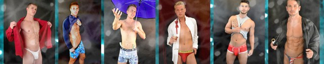 Strip-tease poses for male strippers.