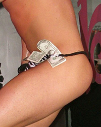 Tipping A Male Stripper