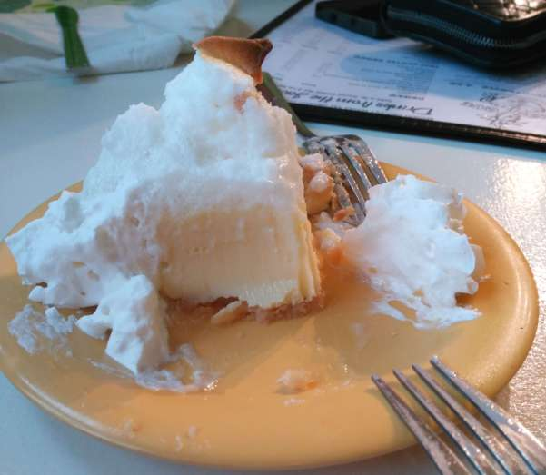 Tarta Key Lime Pie