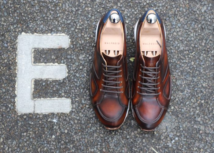 MALFROID SNEAKER LEATHER CUIR 310 PATINE PATINA2