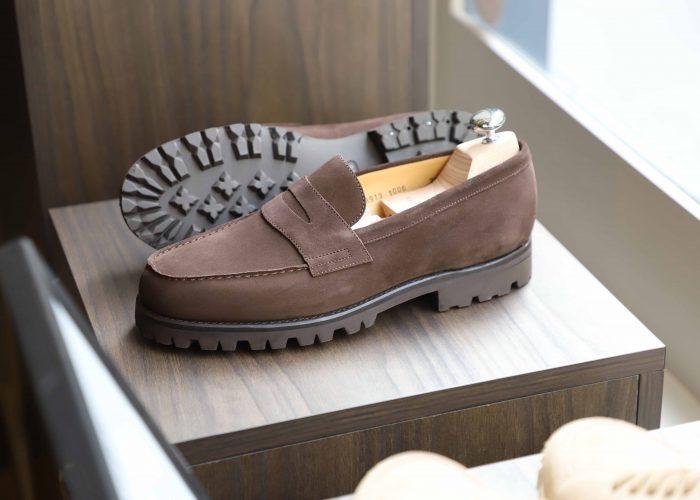 tilsitt 2 penny loafer mocassin commando velours3