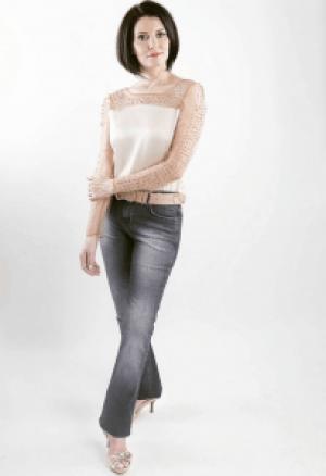 Look black jeans 2