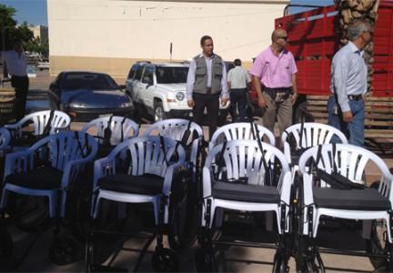 El caso de las sillas de ruedas entregadas en Sonora