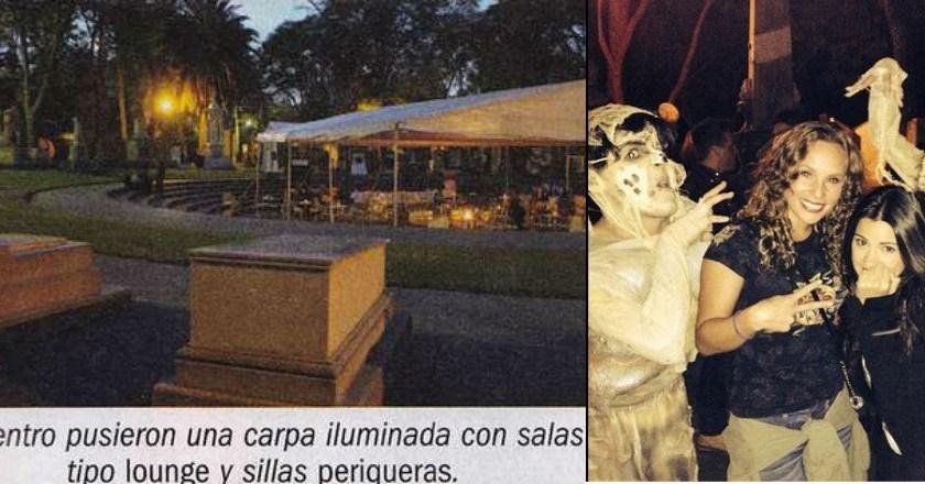 Actriz de Televisa Claudia Cervantes utiliza la Rotonda de los Hombres Ilustres como salón de fiestas