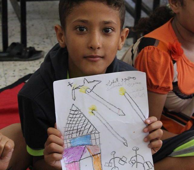 Los niños en medio del conflicto entre Palestina e Israel