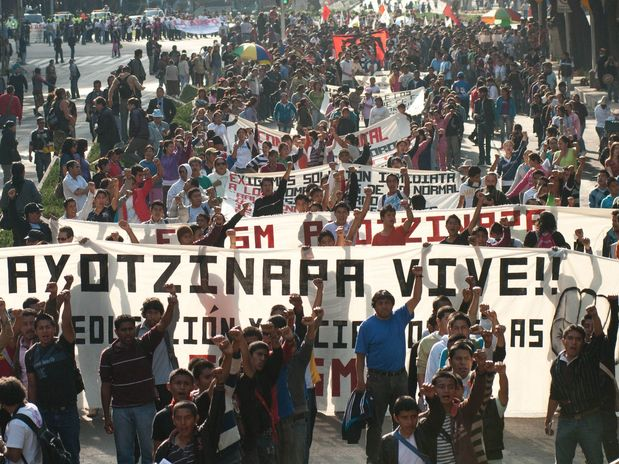 A un mes de Ayotzinapa