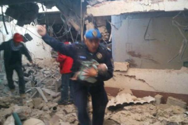 Lista de lesionados por explosión del hospital maternal de Cuajimalpa