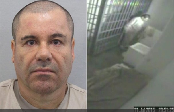 Revelan video con audio de la fuga de El Chapo