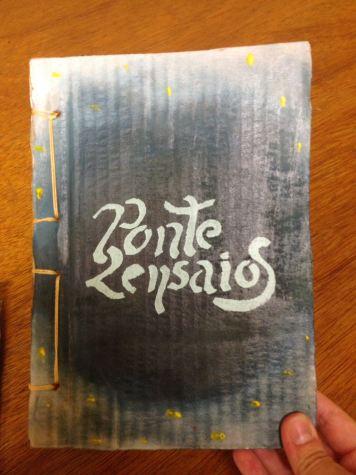 """""""2 Ensaios"""" de Antonio José Ponte. Foto: Alana Oliveira."""