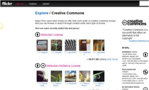 Flickr 300x181 5 Amazing Resources For Free Images