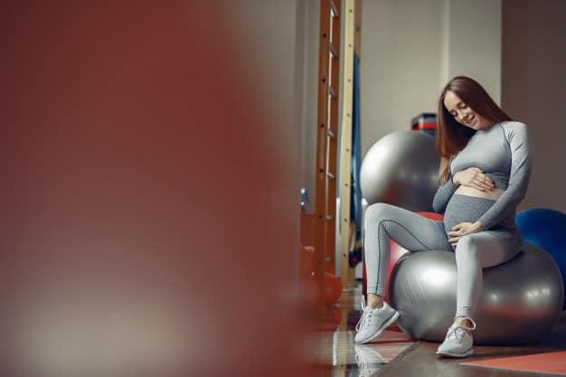 exercícios físicos durante a gravidez