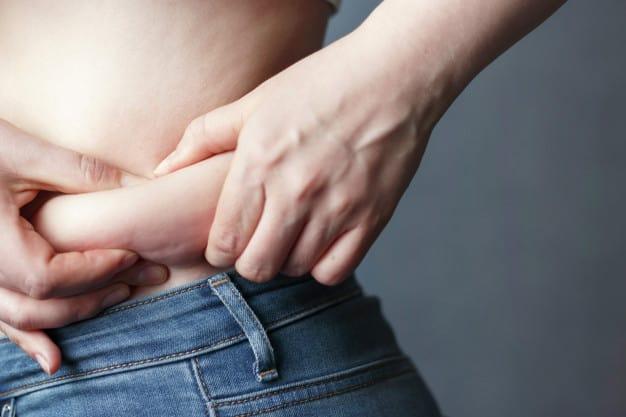 barriga hormonal