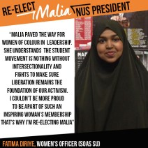 fatima soas endorsement