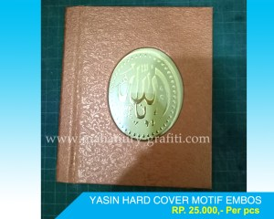 yasin hard cover murah pontianak