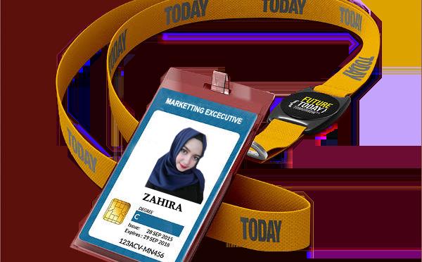 Sablon Tali ID Card Pontianak | Tali Lanyard