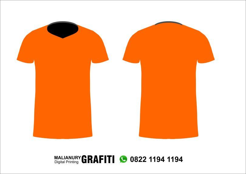 Desain Vector Baju Kaos Gratis