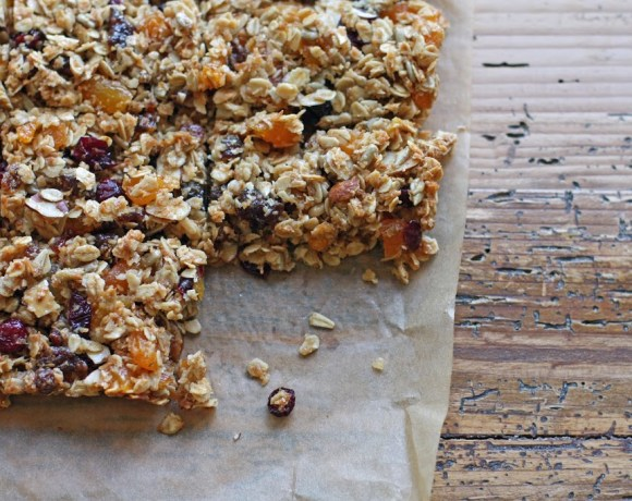 healthy granola bars [clean eating]