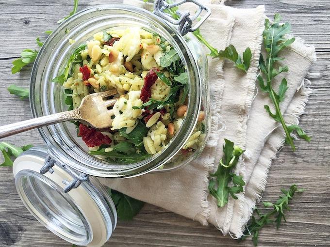 malibu kitchen orzo salad 2