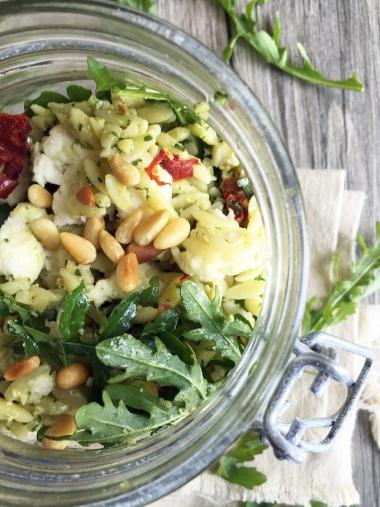 malibu kitchen orzo salad 5