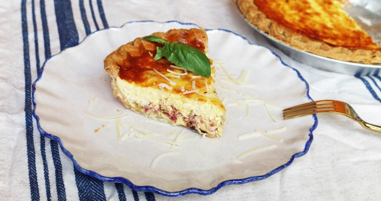 Healthier quiche lorraine easy and healthy recipes malibu kitchen forumfinder Choice Image